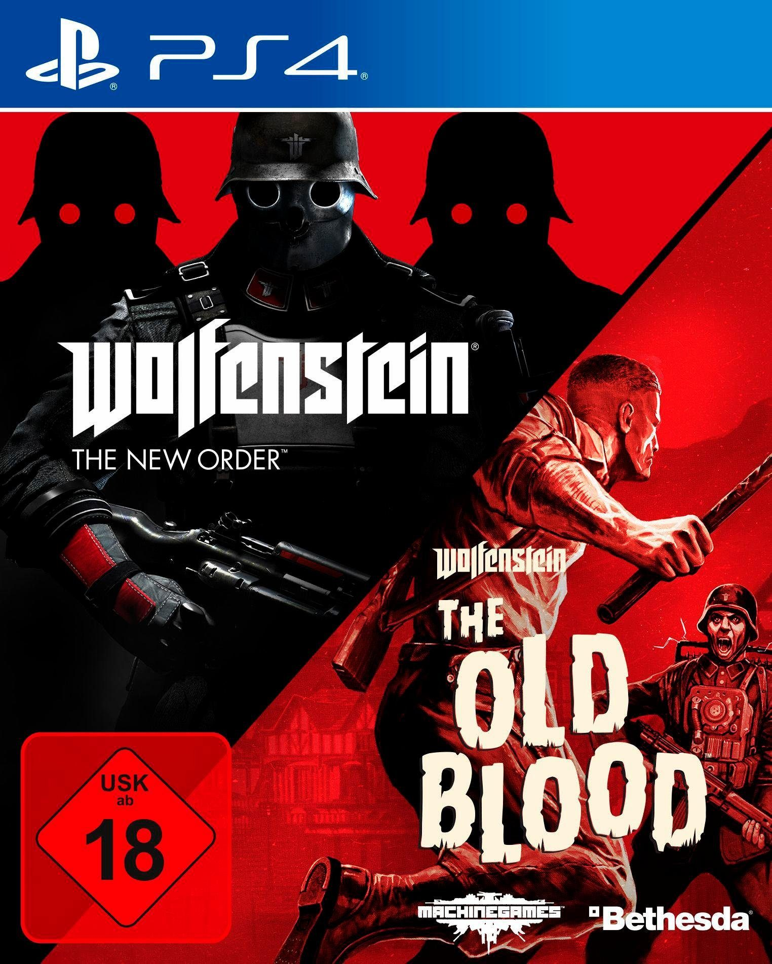 Wolfenstein: The New Order & The Old Blood PlayStation 4
