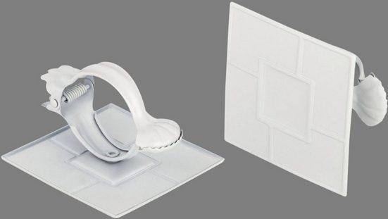Dekoklammer »Quadrat«, Good Life, Vorhänge, (1-tlg), für Stoffe und Vorhänge