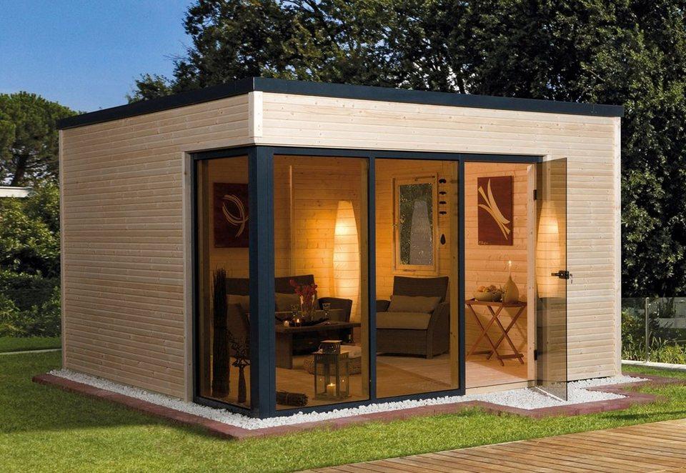 weka gartenhaus wekaline 412 gr 1 bxt 388x314 cm inkl fu boden und dachbahn online kaufen. Black Bedroom Furniture Sets. Home Design Ideas