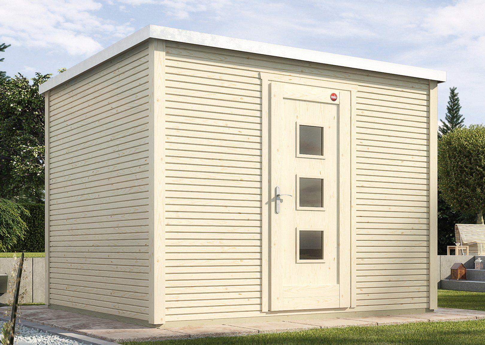 WEKA Gartenhaus »wekaLine 413 Gr.1«, BxT: 260x260 cm, inkl. Fußboden und Dachbahn