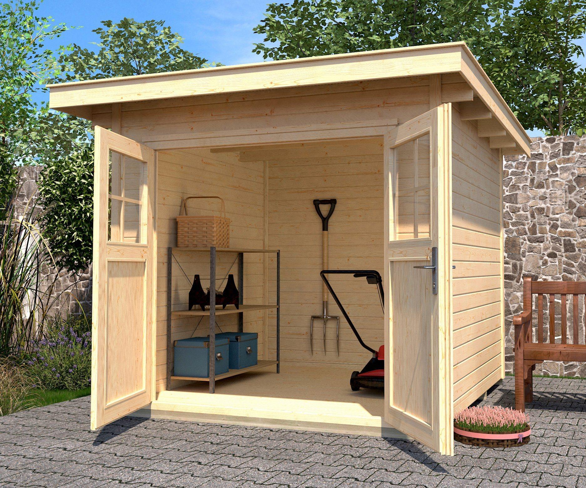 WEKA Gartenhaus »179 Gr.4«, Gesamtmaß BxT: 354x375 cm | Garten > Gartenhäuser | Fichte | weka
