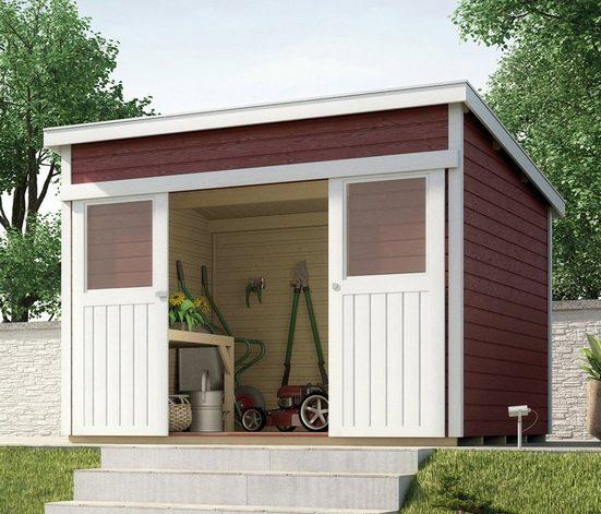 WEKA Gartenhaus »225 Gr.2«, BxT: 315x335 cm, inkl. Fußboden