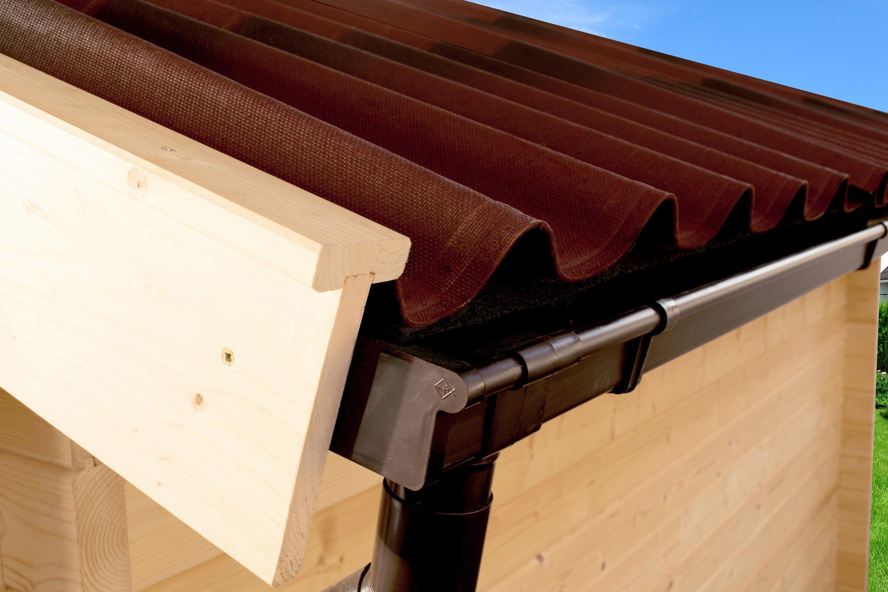 WEKA Bitumenwellplatte , für Satteldächer bis BxT: 380x350 cm