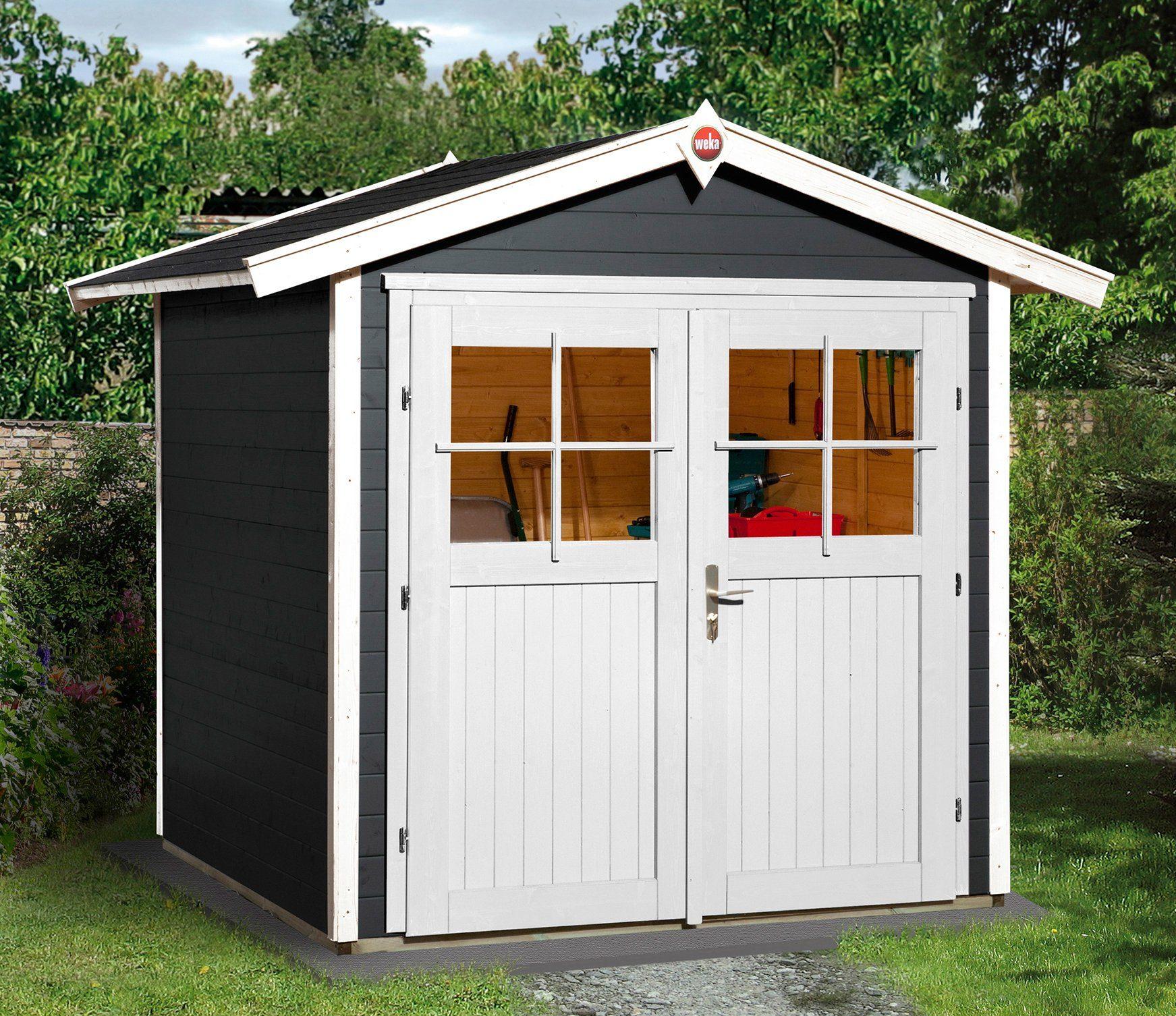 WEKA Gartenhaus »224 Gr.1«, Gesamtmaß BxT: 260x229 cm