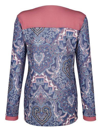 Dress In Bluse mit grafischem Druck