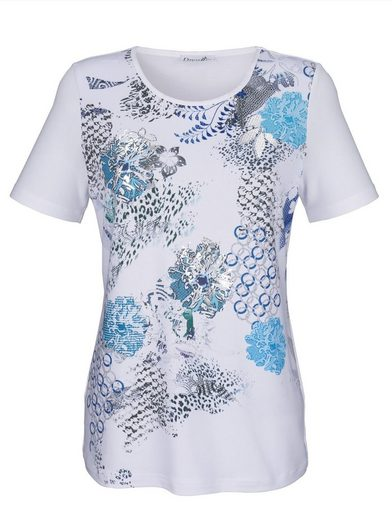 Dress In Printed Shirt With Foil Printing