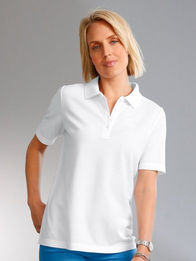 Paola Polo Shirt With Embroidery
