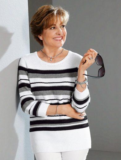 Paola Pullover mit Streifenmuster