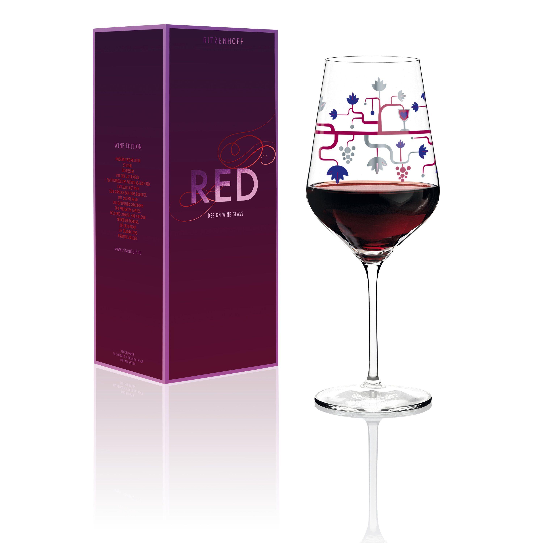 Ritzenhoff Red Rotweinglas »P. Chiera H17«