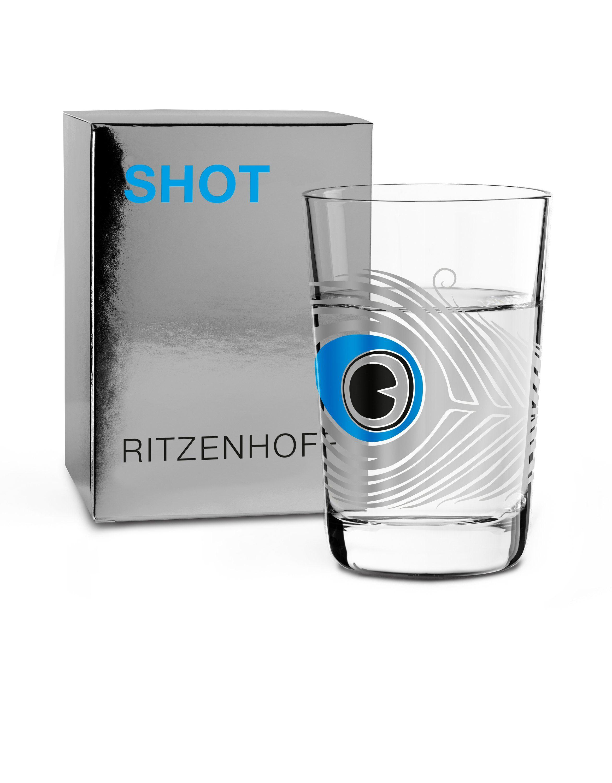 Ritzenhoff Next Shot Schnapsglas S. Pedrazzini Peacock F18