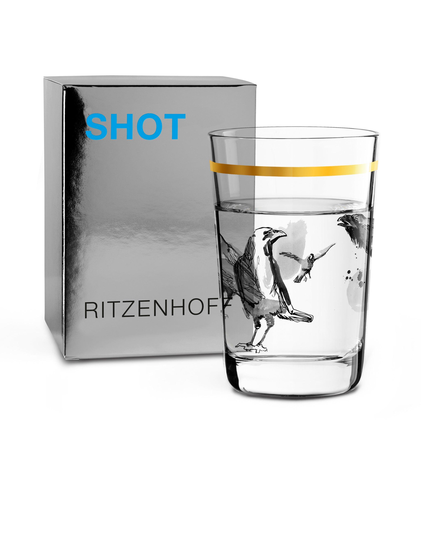 Ritzenhoff Next Shot Schnapsglas P. Pichler Raben F18