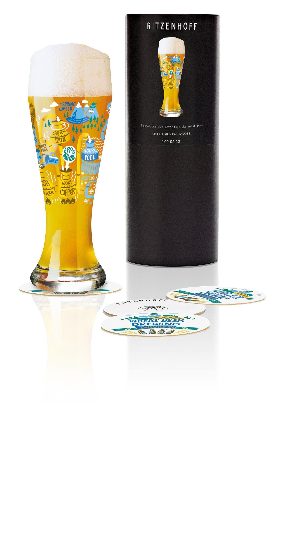 Ritzenhoff Weizen »Weizenbierglas S. Morawetz F18«