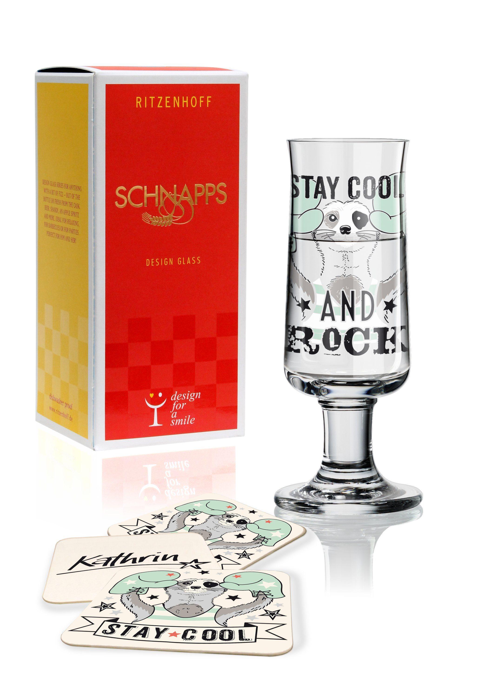 Ritzenhoff Schnapps Schnapsglas K. Stockebrand F18