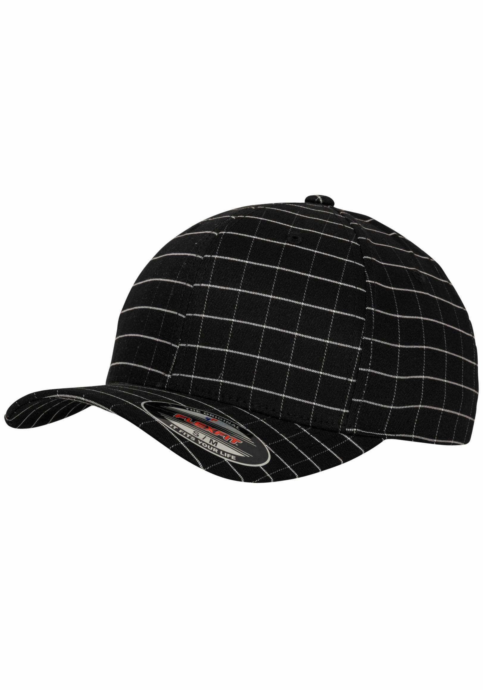 Flexfit Baseball Cap, Square Check Cap
