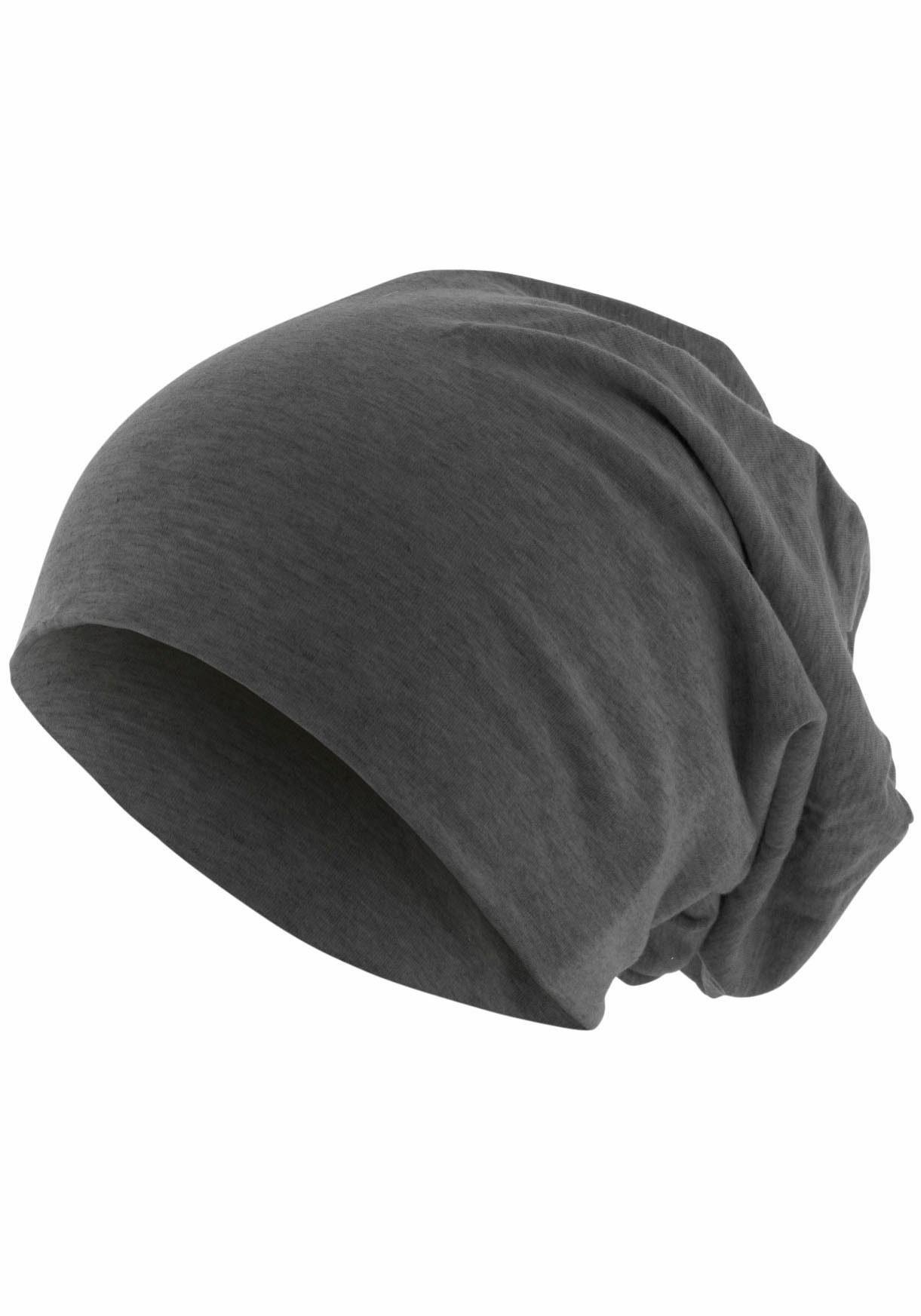 MSTRDS Beanie Jersey Mütze, Oversize, Jahreszeiten allrounder
