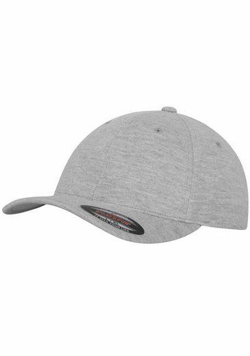 Flexfit Baseball Cap Double Jersey, hinten geschlossen