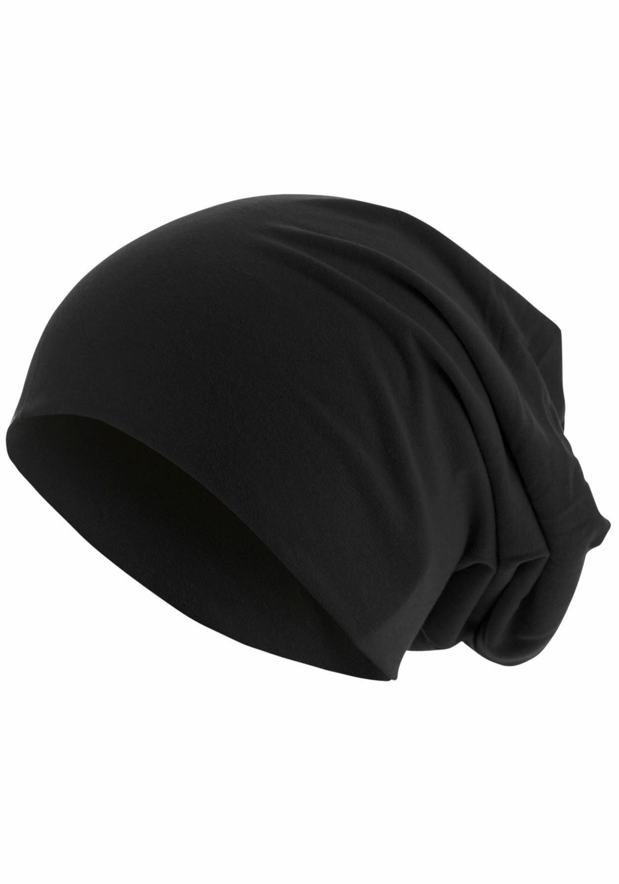 MSTRDS Beanie, Oversize, Jersey Mütze