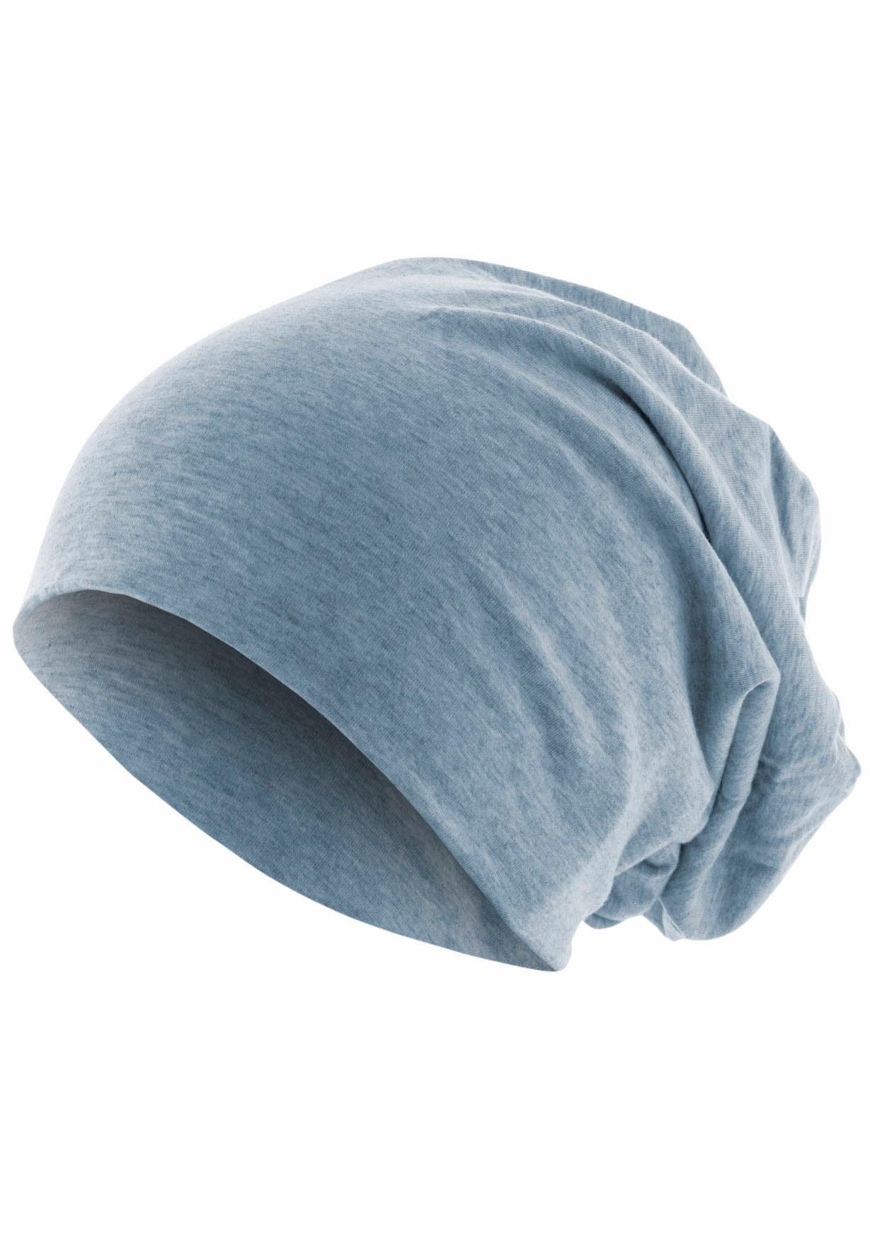 MSTRDS Beanie Jersey Mütze. Oversize