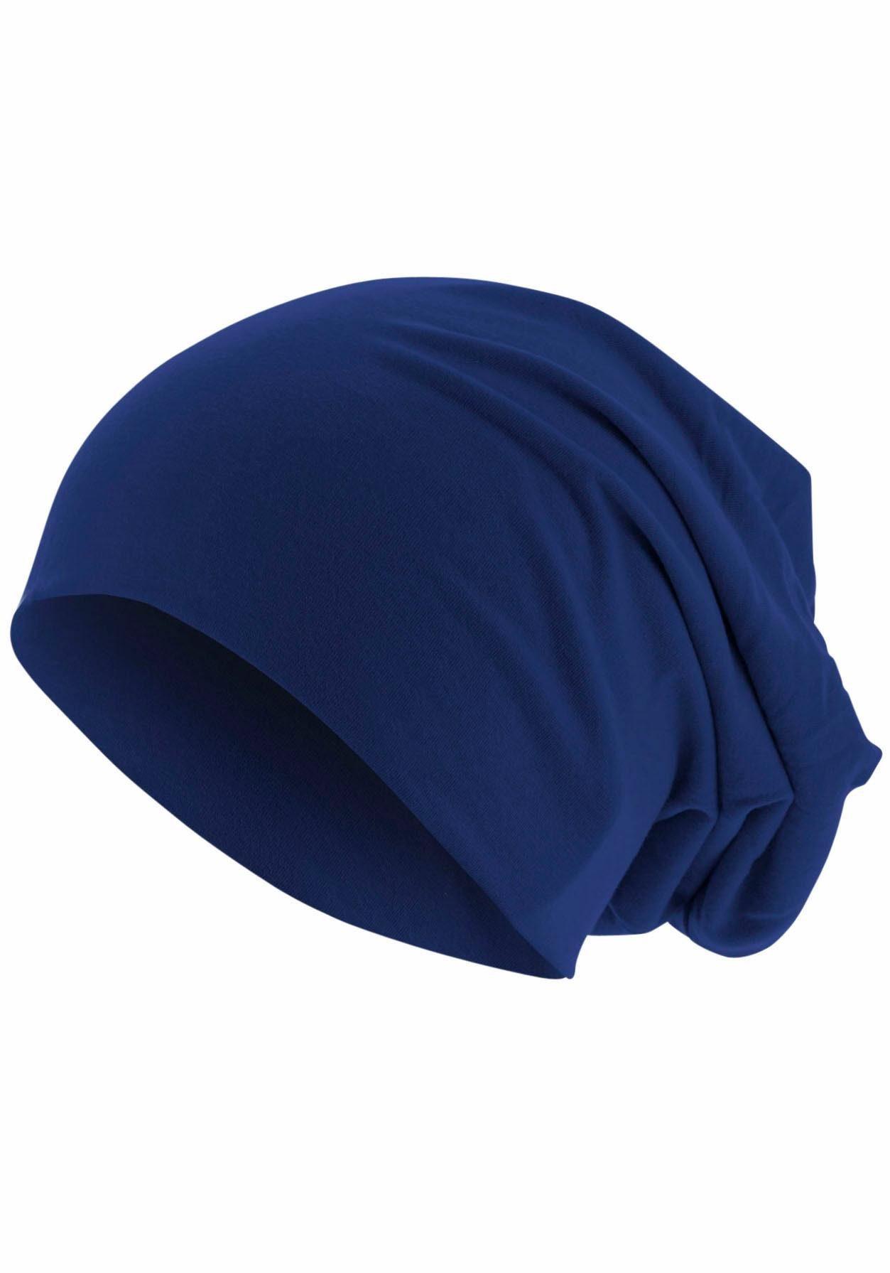 MSTRDS Beanie Jersey Mütze, Oversize