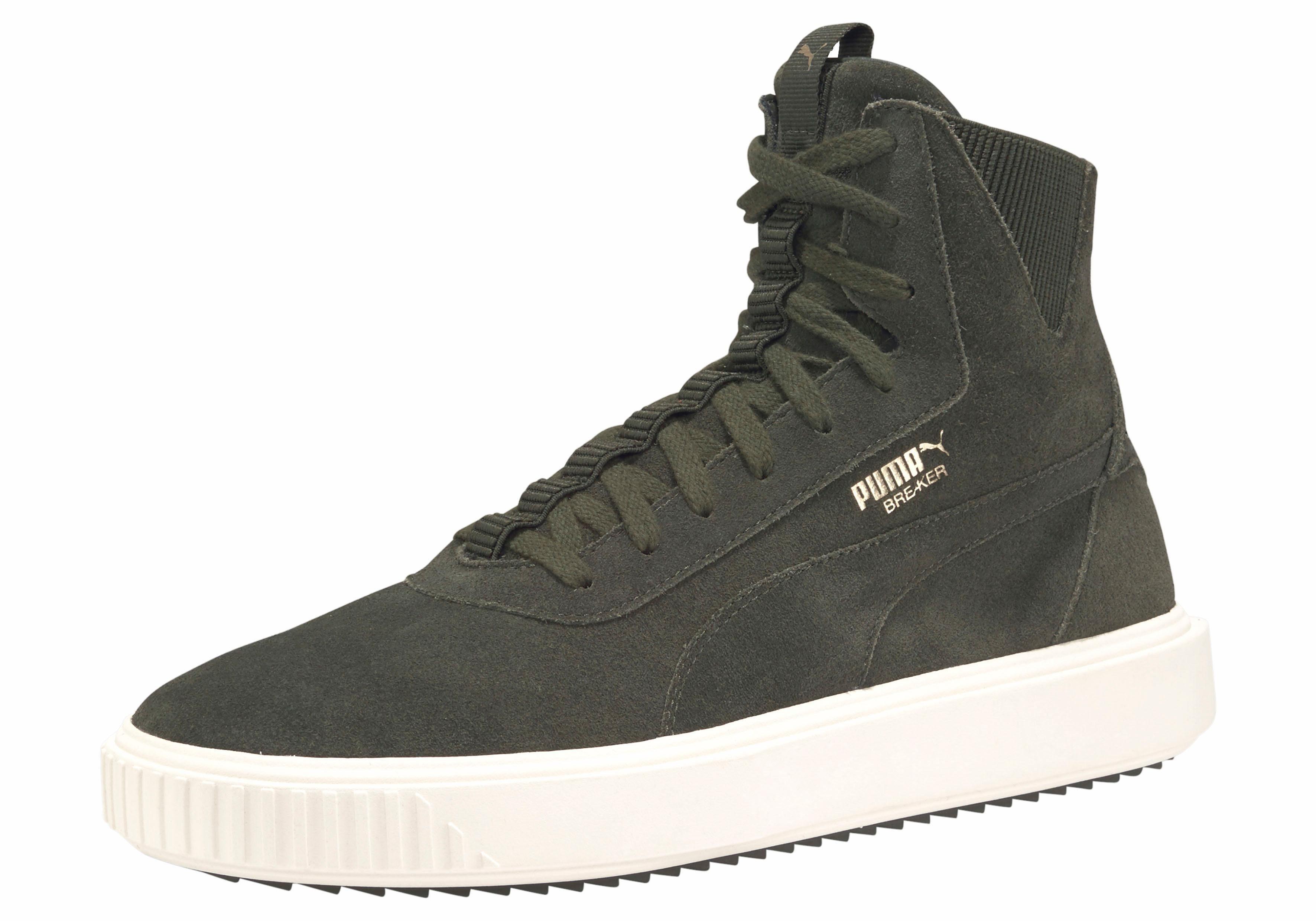 PUMA »Breaker Hi« Sneaker, Strapazierfähige Gummilaufsohle online kaufen   OTTO