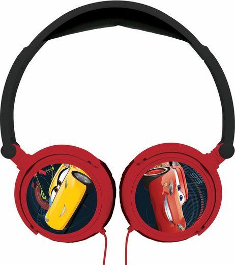 Lexibook, Kopfhörer zum zusammenklappen, »Disney Cars«
