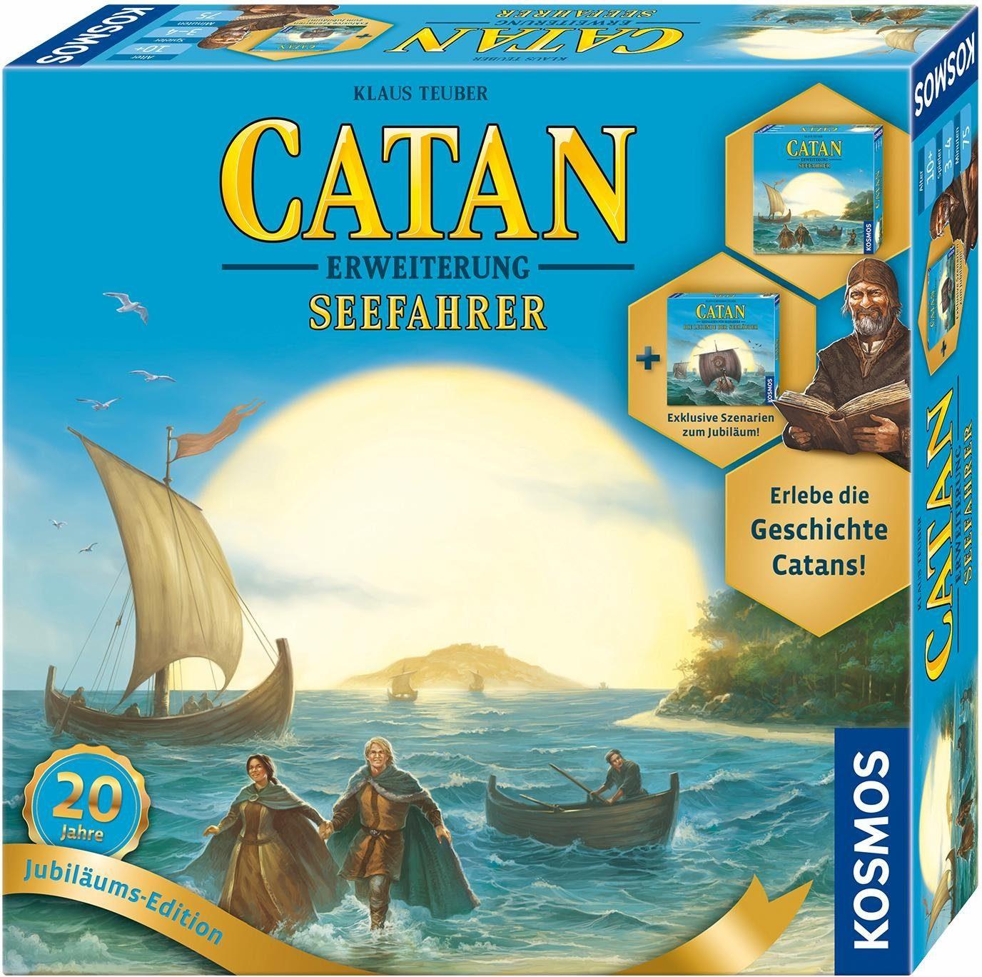Kosmos Brettspiel Zusatz, »Catan Erweiterung, Seefahrer Jubiläumsedition 2017«