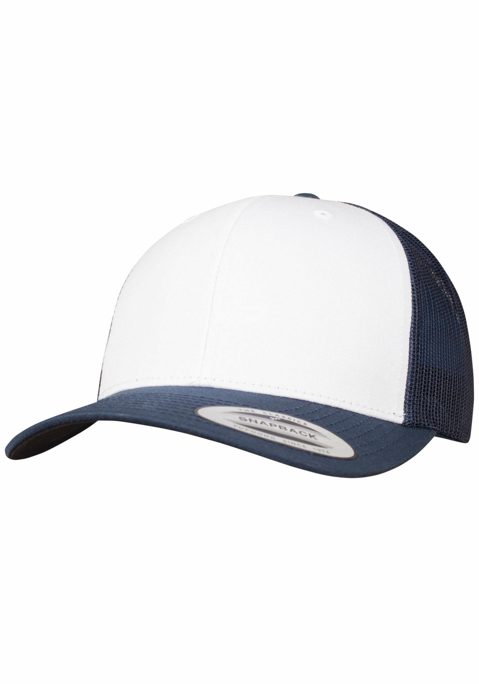 Baseball Cap Retro Trucker Colored Front, Snapback Style