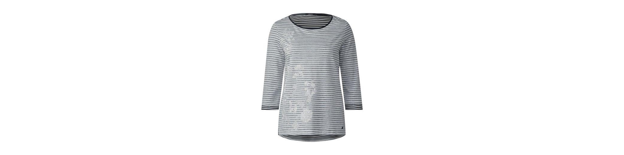 CECIL Shirt Streifen mit Streifen Shirt Print CECIL mit Print CECIL Shirt mit Streifen TwUqgC
