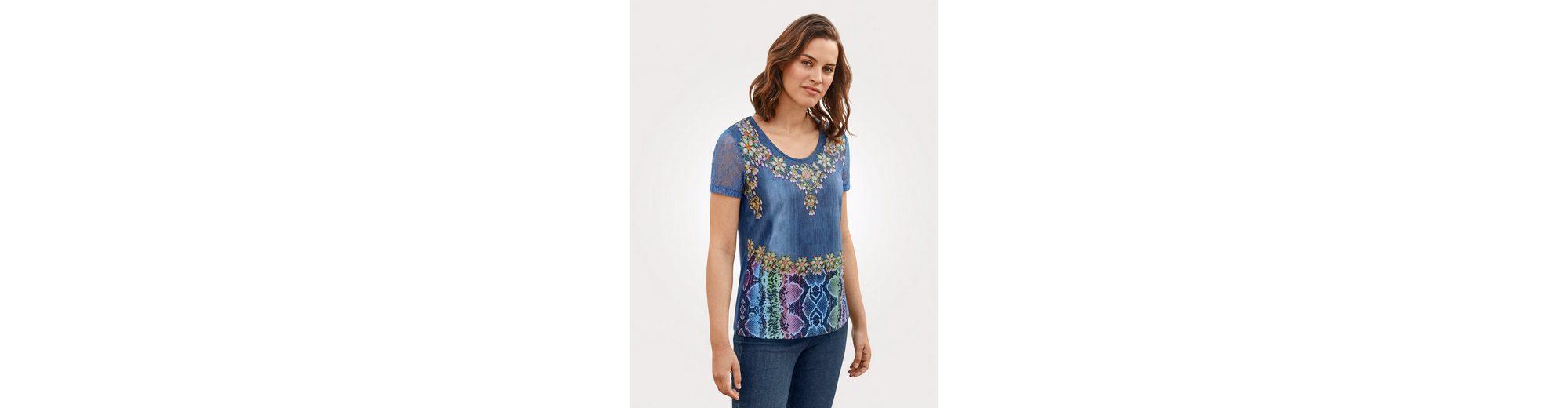Mona Shirt mit einzigartigem Druckdessin Perfekte Online-Verkauf Freies Verschiffen Sammlungen Billig Verkauf Genießen bCIJvx0cNM