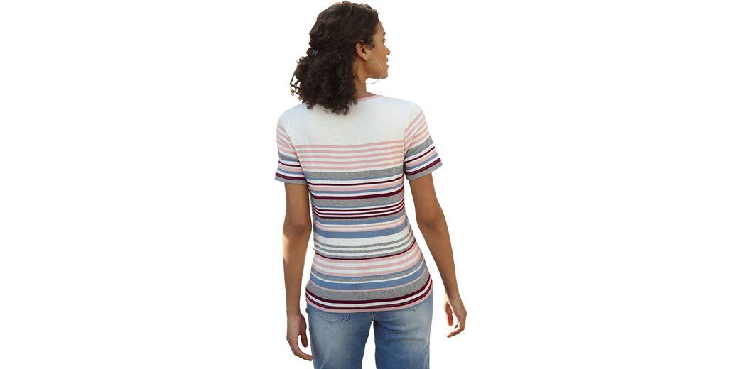 Collection L. Shirt im Ringelmuster Vorbestellung Günstig Online Günstig Kaufen Manchester Großen Verkauf Sonnenschein Rabatt Bestellen 6PmTKU6r6