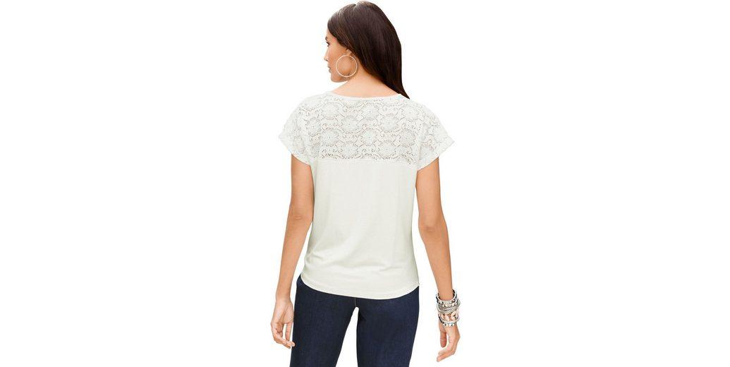 Classic Inspirationen Shirt mit Blütenspitze Mit Mastercard Zum Verkauf byZ7fbkt