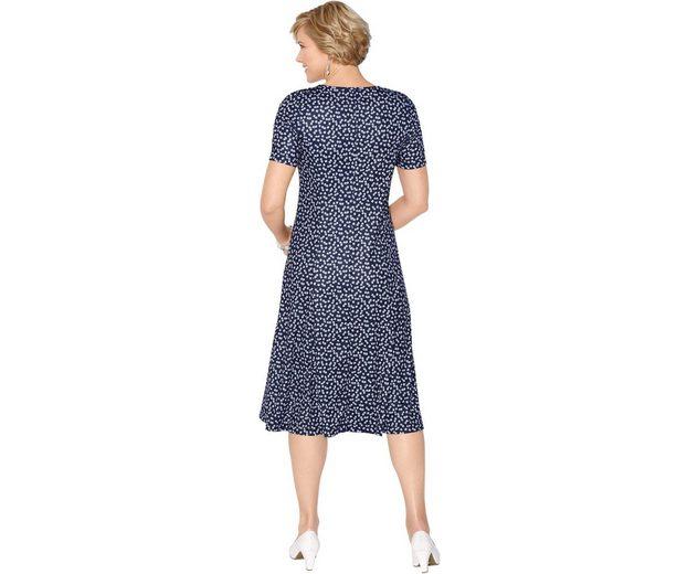Günstig Kaufen Countdown-Paket Exklusiver Günstiger Preis Classic Jersey-Kleid im Blümchen-Dessin Offizielle Günstig Online ZApRg4