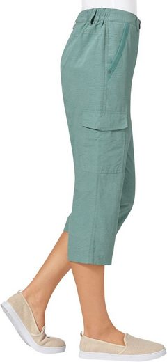 Collection L. Capri-Hose im dezenten Druckmuster