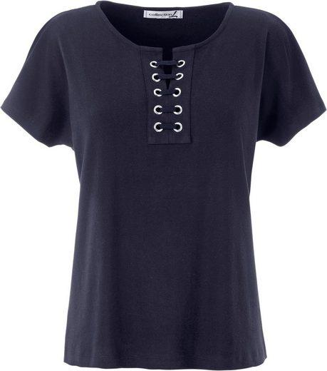 Collection L. Shirt mit lässig überschnittenen Schultern