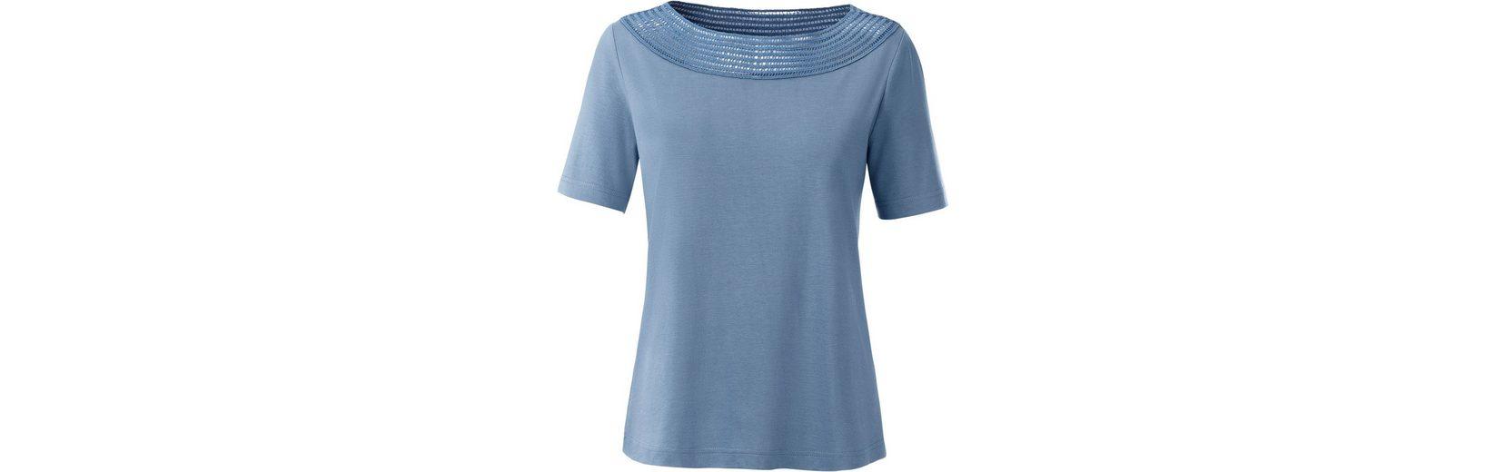 Collection L. Shirt mit Spitzendurchbruch Rabatt Gutes Verkauf Professionelle Online Günstig Kauft Besten Platz Günstige Top-Qualität Günstig Kaufen 2018 Neue myOdd