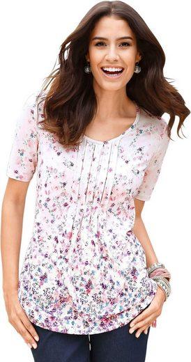 Classic Inspirationen Shirt mit floralem Druck