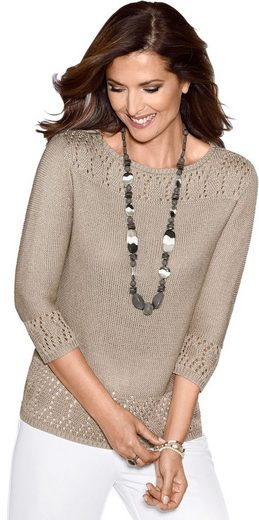 Classic Pullover in Links-Strick