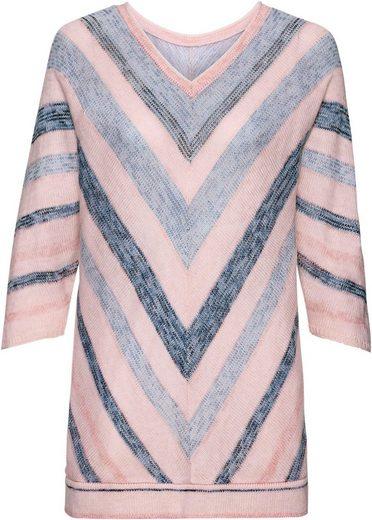 Classic Basics Pullover mit Streifen-Muster