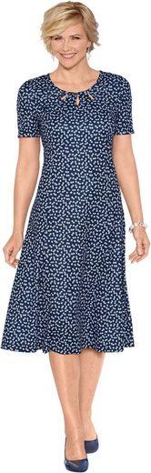 Classic Jersey-Kleid im Blümchen-Dessin