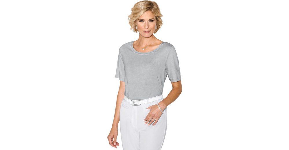 Verkauf Niedrig Kosten Classic Shirt mit Glitzersteinchen Extrem Online zIvb2CYl