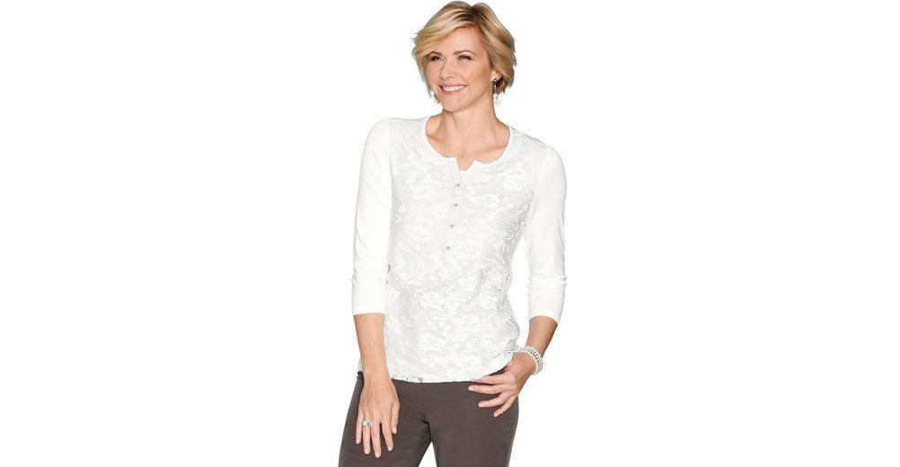 Classic Shirt mit Spitze Outlet-Store K5UCA1VX