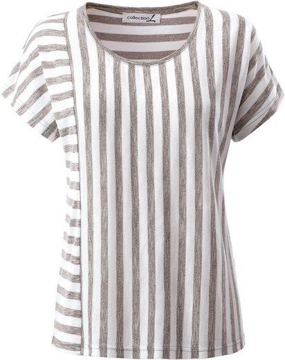 Collection L. Shirt im flotten Ringelmuster