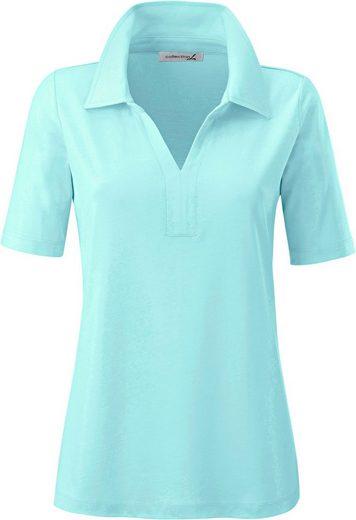 Collection L. Shirt mit Polokragen