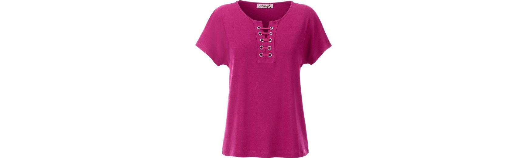 Collection L. Shirt mit lässig überschnittenen Schultern Brandneues Unisex Günstiger Preis crQQUBtmO