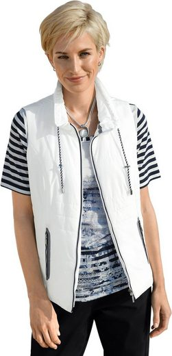 Collection L. Vest With Turndown Collar