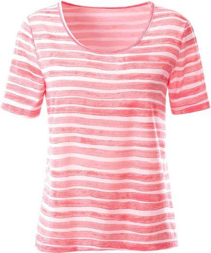 Collection L. Shirt im Streifenmuster