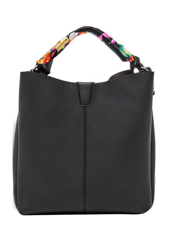 hallhuber handtasche mit satinhenkel online kaufen otto. Black Bedroom Furniture Sets. Home Design Ideas