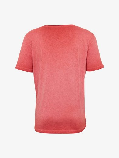 Tom Tailor Tee Shirt With Ablution And Print