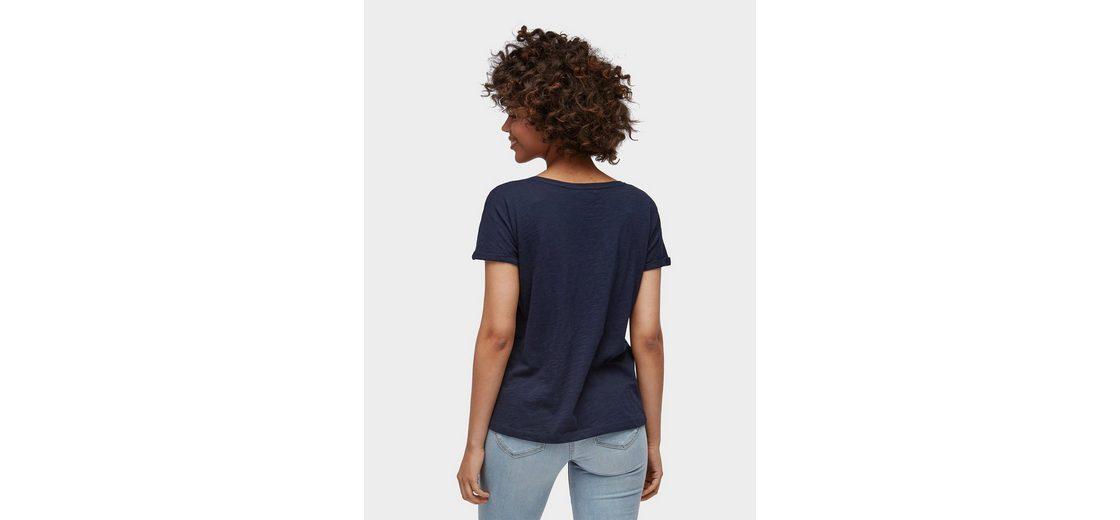 Tom Tailor Denim T-Shirt unifarbiges T-Shirt Aussicht ygBDzHLD