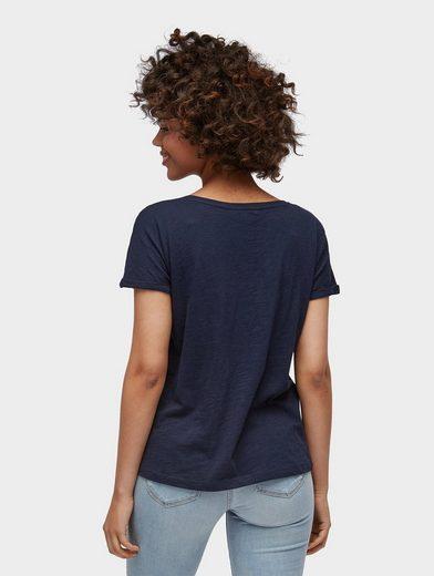 Tom Tailor Denim T-shirt Unifarbiges T-shirt